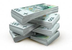pieniądze banknoty 100zł