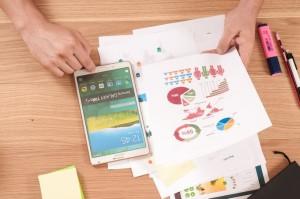tablet rachunki pożyczki i oszczędzanie